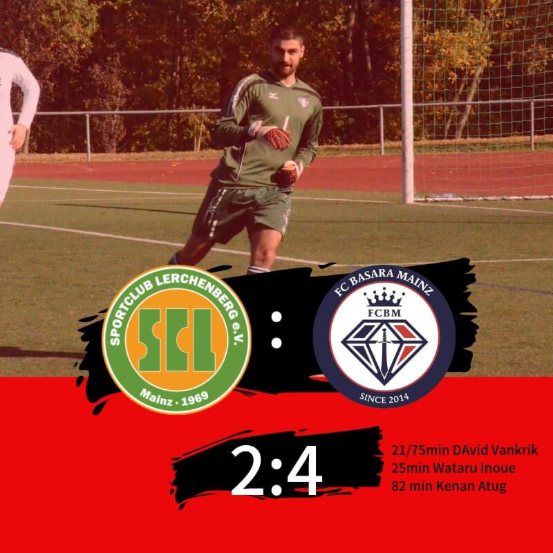 【セカンドチーム】第17節 vs SC Lerchenberg 試合記録