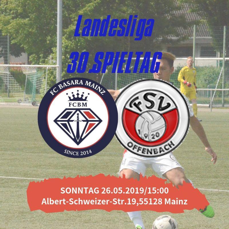 【トップチーム】第30節 vs FSV Offenbach 試合情報