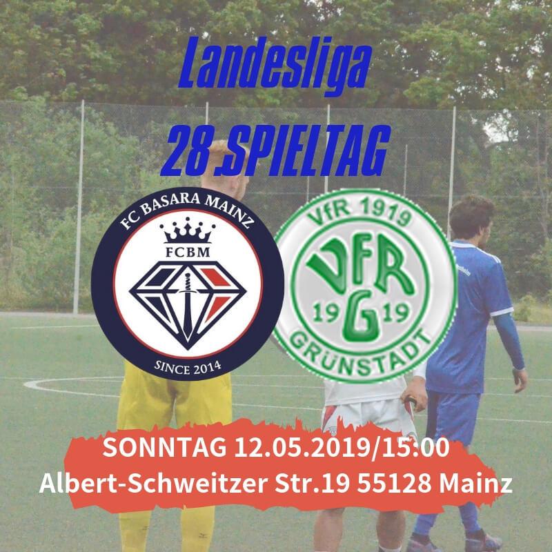 【トップチーム】第28節 vs VfR Grünstadt 試合情報