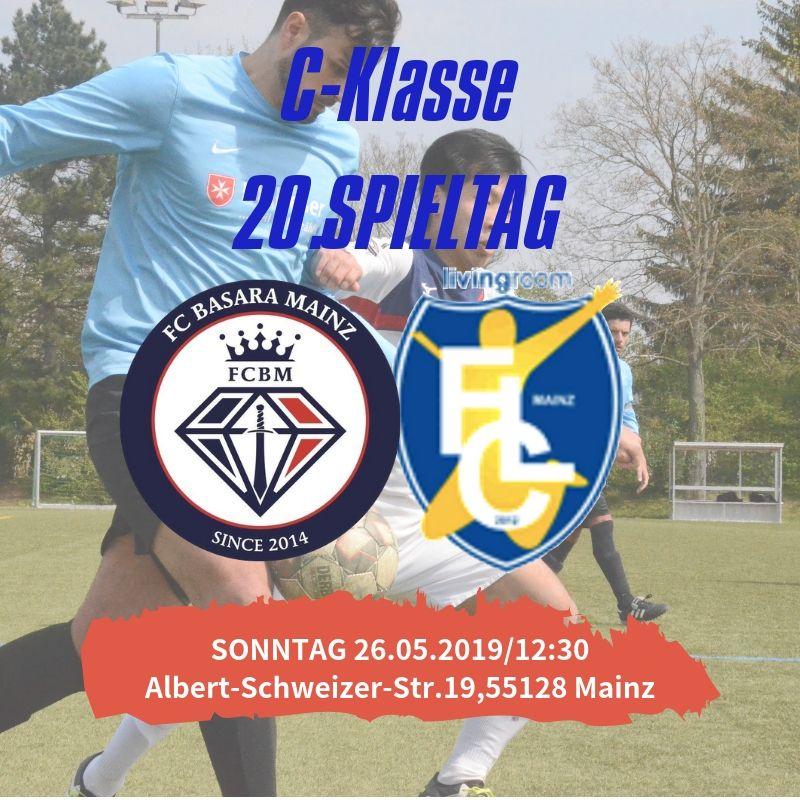【セカンドチーム】第20節 vs FC livingroom Mainz Ⅱ 試合情報