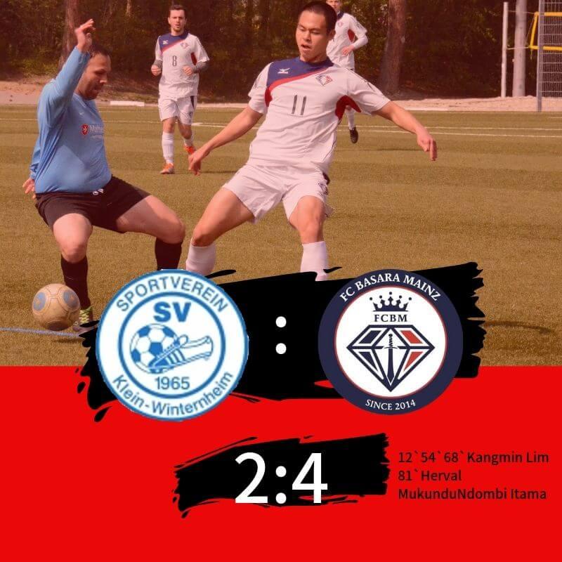 【セカンドチーム】第19節 vs SV Klein-Winterheim Ⅱ 試合記録